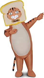 Inflatable Halloween Costume, Bread Cat Halloween Costumes for Men and Women, Blow Up Adult Costumes