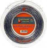 Kirschbaum Saitenrolle Max Power Rough, Anthrazit, 200m, 0105260218400006