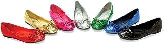 ELLIE Shoes Ballet Flat Bow Womens Glitter 016-MILA-G Gold-7
