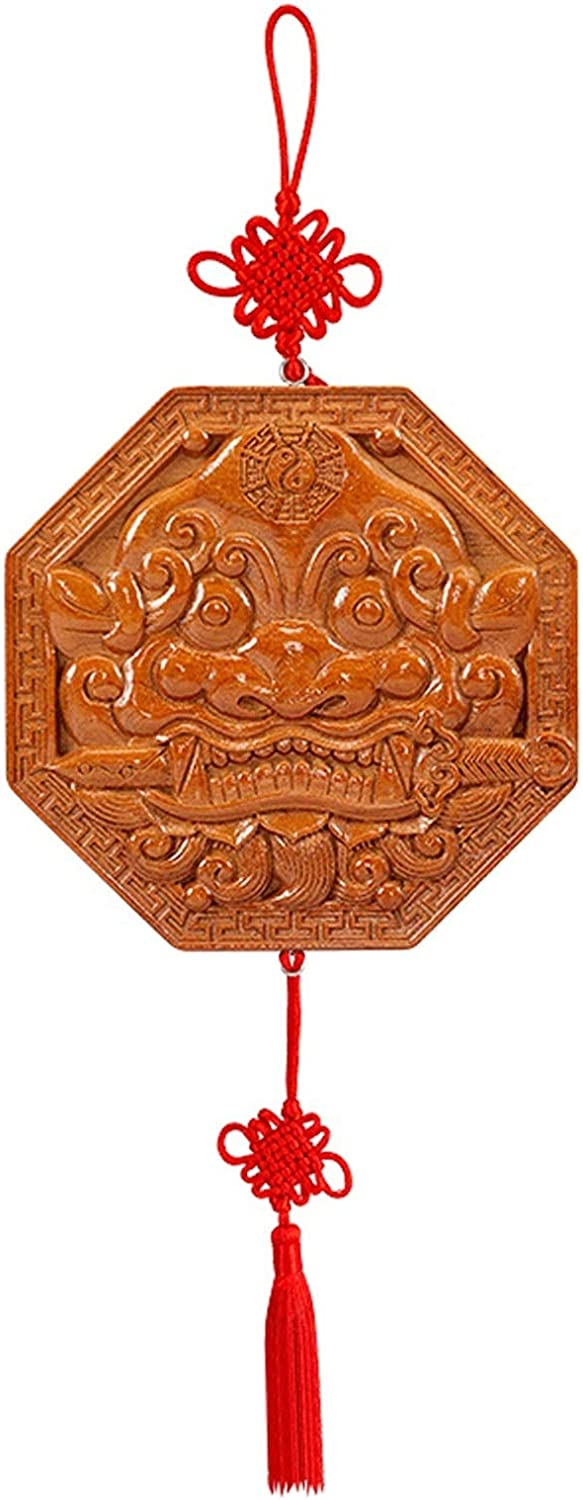 XXXXW Feng Shui Mirror Lucky Chinese Lion Max Nashville-Davidson Mall 48% OFF Bagua Head M