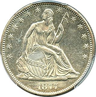 1877 silver half dollar
