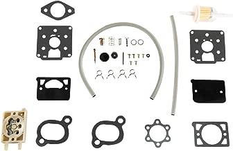 TC-Home Carburetor Rebuild Kit for Onan Engine model BF, BG, B43M or B48M,Marvel Schebler DD11, DD13 or DD15 with Fuel Pump replace Onan kit 142-0570