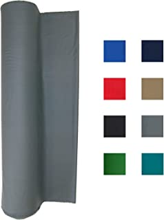 21 Ounce Pool Table Felt - Billiard Cloth - for 7, 8 or 9 Foot Table Choose from English Green, Standard Green, Blue, Navy Blue, Light Gray, Black, Red or Tan