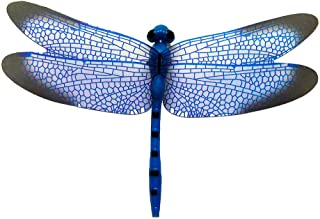 🍀Libobo🍀1Pc 3D Dragonfly Shape Fridge Fridge Magnet Refrigerator Sticker Home Decor Set (Blue)