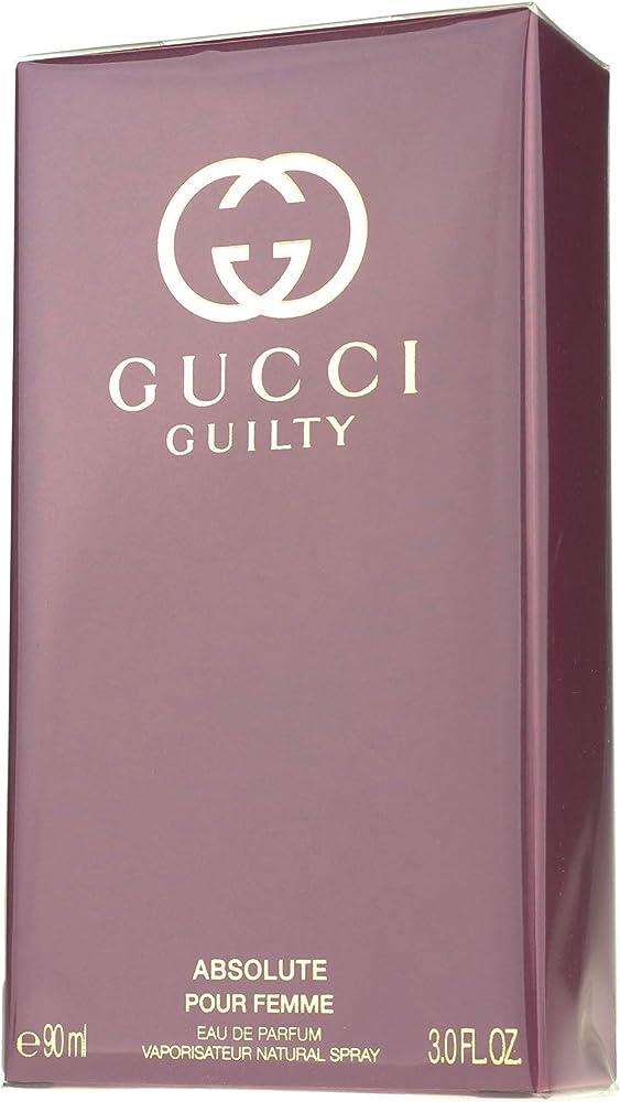 Gucci guilty absolute pour femme,eau de parfum,profumo da donna,90ml 8005610524238