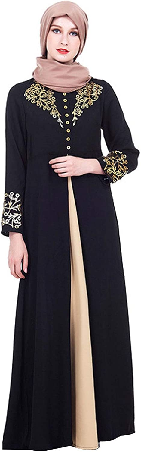 Adela Boutique Women's Two-Piece Muslim We OFFer at cheap prices Prayer Max 50% OFF Dress Hijab Scarf