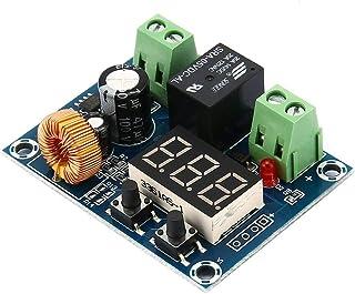 Tivollyff 12-36V、コントローラの保護ボードバッテリ充電、低電圧、カットオフ、切断し、自動スイッチの回復、保護モジュール ブラックS