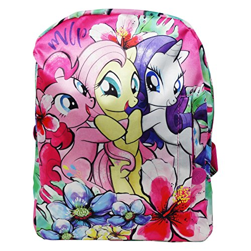 My Little Pony Power Color Zaino Infantil per Bambini Asilo come Portamerenda e Tempo Libero