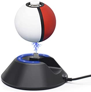 Charge Stand for Poke Ball Plus Controller, Charger Dock Station Holder with Type-C USB Charging Cable Accessories for Nin...