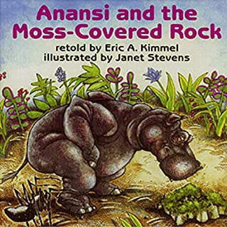 Anansi and the Moss Covered Rock audiobook cover art