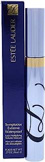Estee Lauder Sumptuous Extreme Waterproof Lash Multiplying Volume Mascara, Extreme Black, 0.3 Ounce