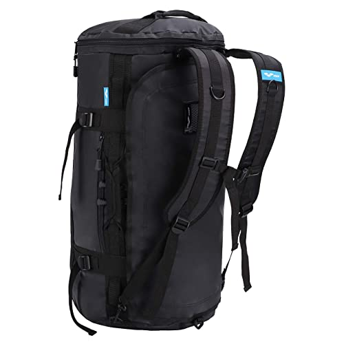 MIER Large Outdoor Duffel Backpack Sports Gym Bag Backpack with Shoes  Compartment Convertible to Backpack c4416ab3b8f8a