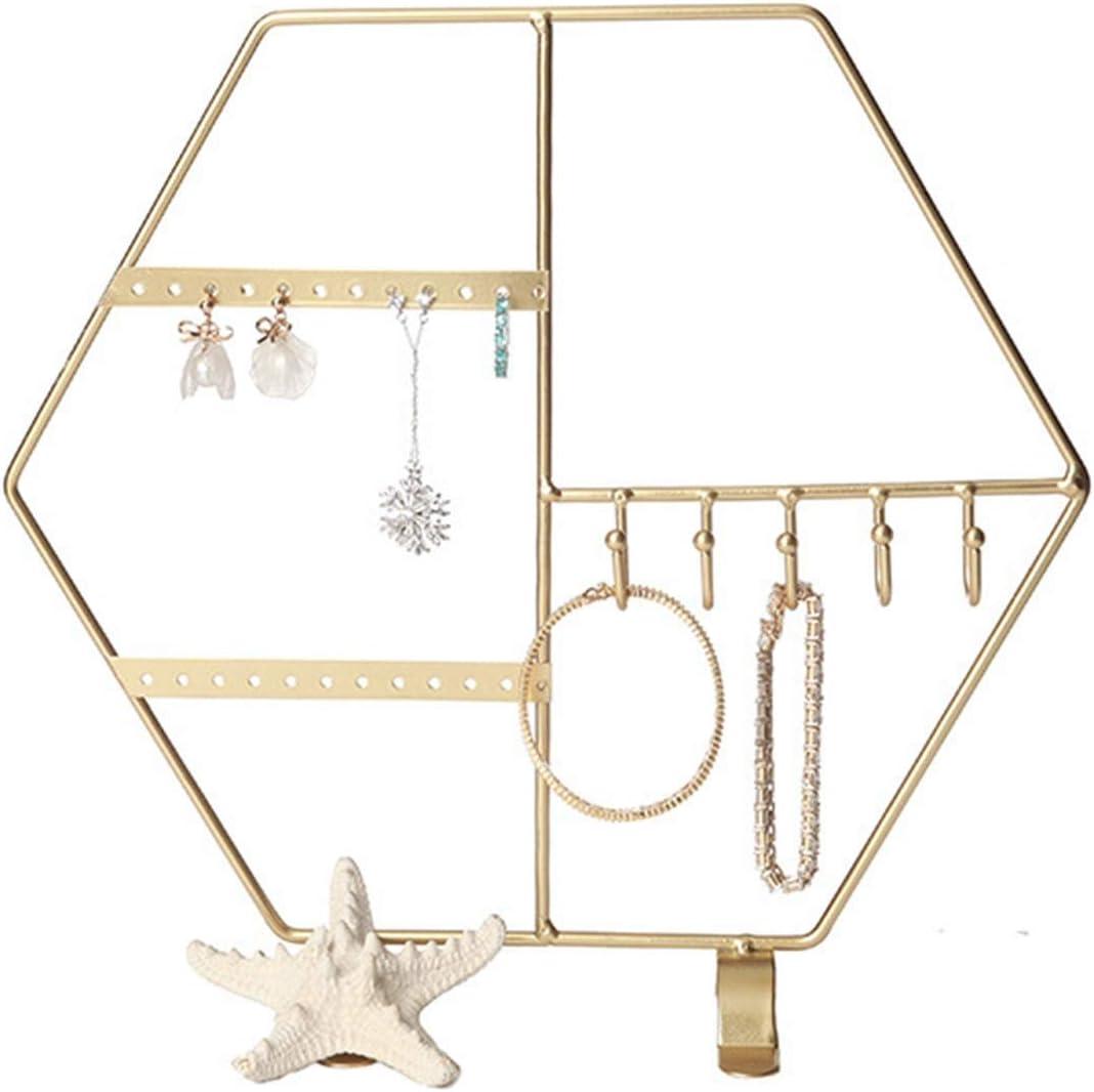 YICHOU service Hanging Jewelry cheap Organizers Storage Fashion and Hexagonal