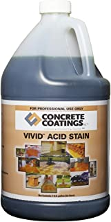 VIVID Acid Stain - 1 Gal - Ebony (Almost Black)