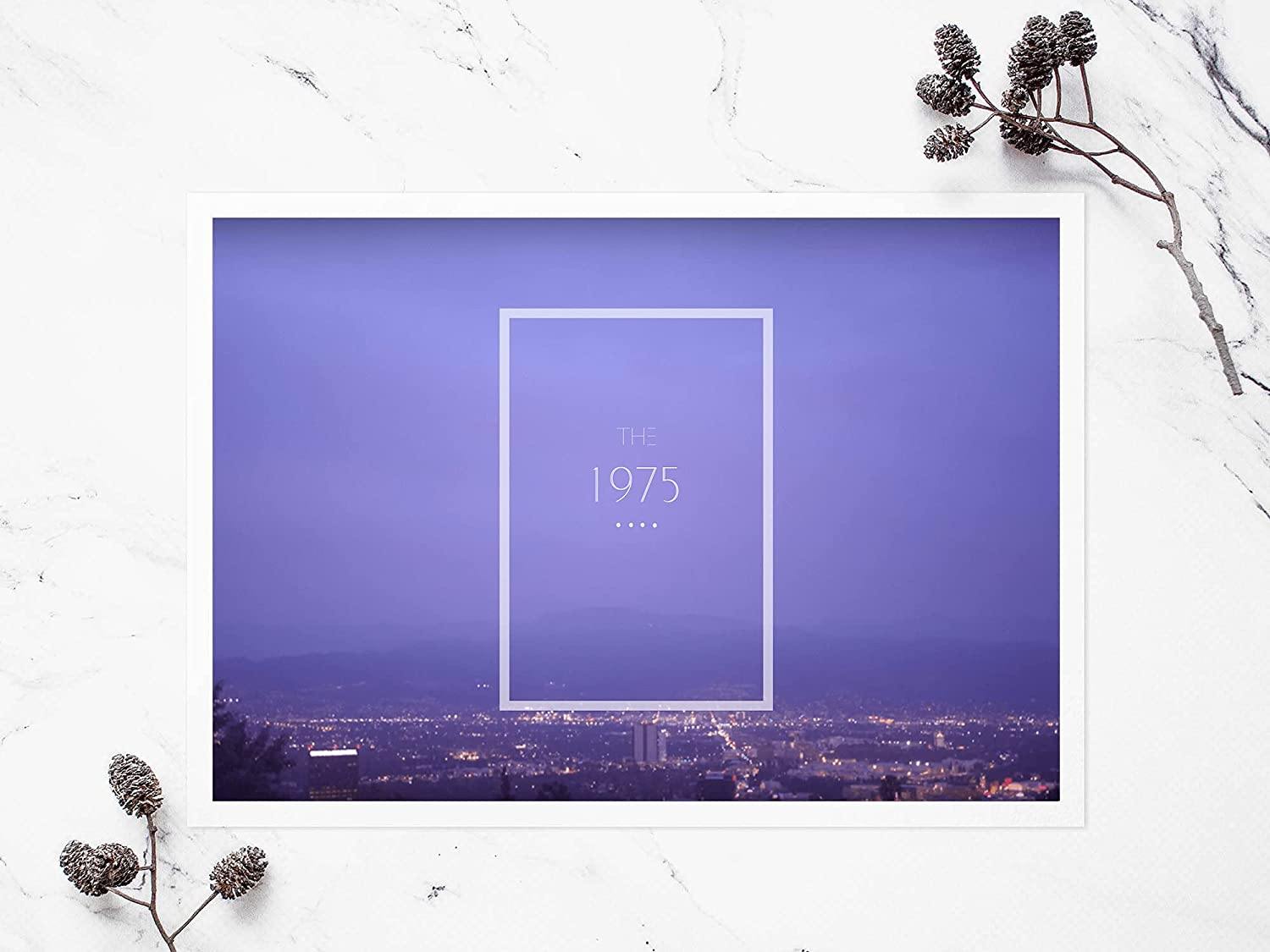 The 1975 Band Poster Artwork 18x24 Cash special price i Indie Ranking TOP15 pop art