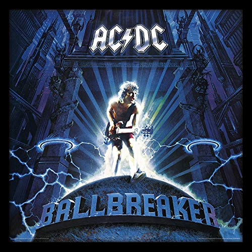 AC/DC Ballbreaker Enmarcado clásico álbum Funda filmcell Factory, Multicolor, 30,5cm