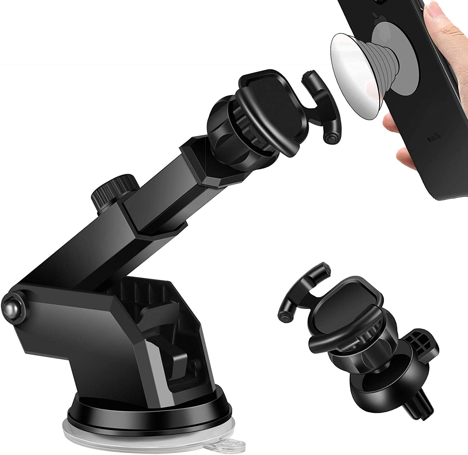 Car New product type Mount Air Vent Cell Max 45% OFF Phone Cup Suction Pop Holder f