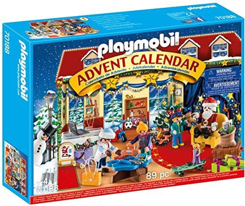 PLAYMOBIL Christmas Calendario de Adviento Navidad en la Juguetería, A partir de 4 años (70188)
