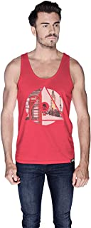 Creo London Underground Tank Top For Men - M