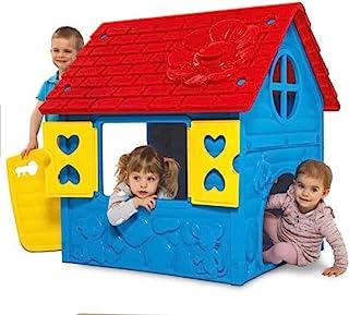 Thorberg Spielhaus Kinderspielhaus Blau Gelb Rot Made In EU Kinderhaus