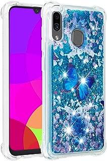جراب ISADENSER لهاتف Galaxy A20 Samsung A30 لحماية الفتيات جراب قلاب لطيف من جلد البولي يوريثان فائق الجودة ومقاوم للصدمات مع حامل بطاقات لهاتف Samsung Galaxy A30 / A20