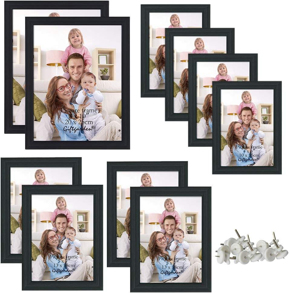 Photo Frames 8x8 Picture Frames home decor Rustic picture frames 5x7 Wedding decorations 4x6 farmhouse wall decor boy Nursery decor