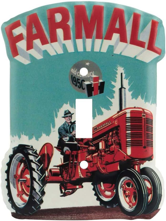 Open Road Brands Farmall Large-scale sale International Chicago Mall Harvester Tractor Embosse