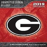 University of Georgia Bulldogs 2019 Calendar
