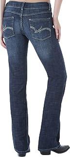Wrangler Women's Western Stretch Boot Cut Jean