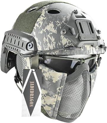 Jadedragon PJ Tactical Fast Helmet & Protect ear Foldable