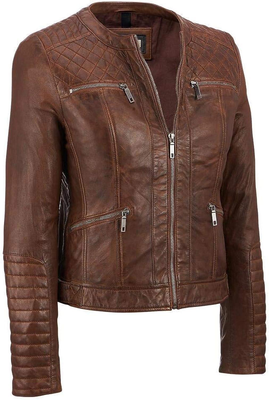 Trailblazerzz Womens Lambskin Leather Jackets