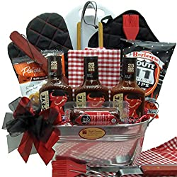 A Father's Day BBQ Gift Basket