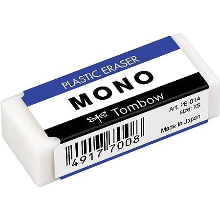 トンボ鉛筆 消しゴム モノ PE-01A 1個入り