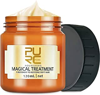120ml PURC Molecular Hair Treatment Mask, Pure Magical Treatment for Hair, 5 Seconds Deep Conditioner Repairs Dry Damaged Hair Root Hair Tonic Keratin Hair & Scalp Treatment (120ML)