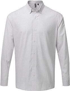 Premier Mens Maxton Check Long Sleeve Shirt
