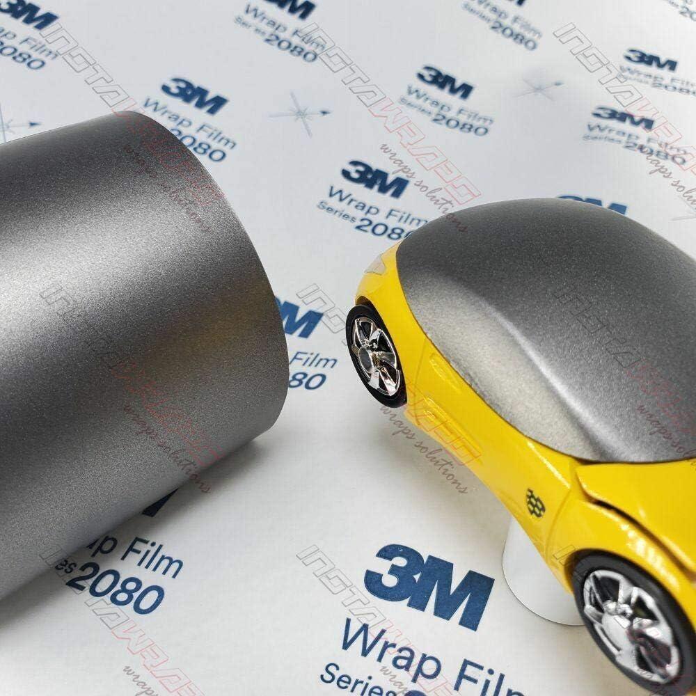 3M store Ranking TOP14 1080 M230 Matte Gray Aluminum 5ft ft Wrap 125 Sq 25ft Car x