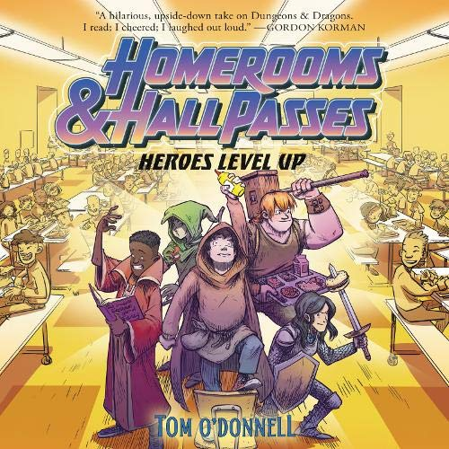 Homerooms and Hall Passes: Heroes Level Up Titelbild