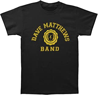 Men's College Logo Slim Fit T-Shirt Black