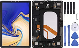 SHUHAN Mobile Phone Replacement Part LCD Screen and Digitizer Full Assembly with Frame for Galaxy Tab S4 10.5 inch SM-T835...