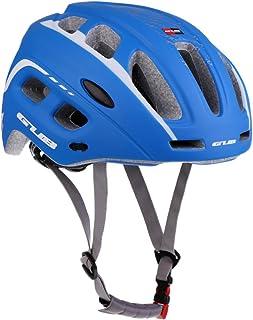MagiDeal Casco Ultraligero con Visera Bicicleta Moldeado 19 Hoyos Protector Montañismo Ciclismo Patinaje Deporte Aire Libre