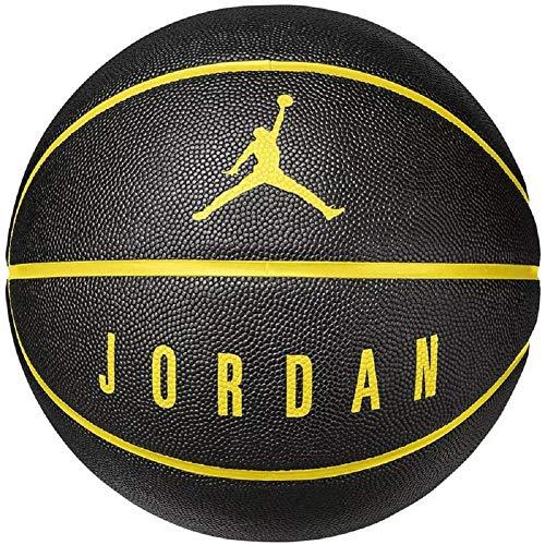 Nike Jordan Ultimate 8P Basketball (Black/Yellow, 7)