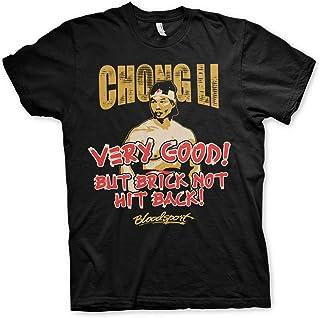 Bloodsport Officially Licensed Chong Li Mens T-Shirt (Black)