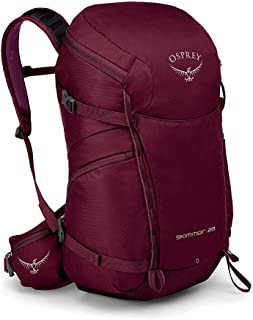 Osprey Skimmer 28 Womens Hiking Backpack One Size Plum Red