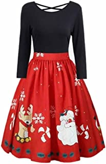 b33dfe145c5 Amazon.fr   robe noel femme - 1 étoile   plus   Vêtements
