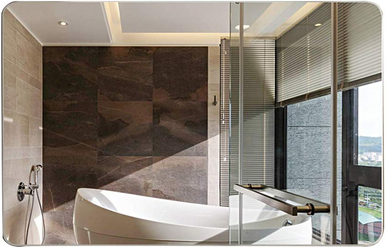 Wall-Mounted Bathroom Mirror Bathroom Vanity Mirror Vanity Mirror Mirror Wall Frameless Bathroom Mirror Square Mirror Bathroom Mirror