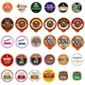 Crazy Cups Flavored Coffee Pods Variety Pack With Unique Flavors And No Duplicates, Fits All Keurig K Cups Coffee Makers -Great Coffee Gift, Flavored Coffee, , 30 Count