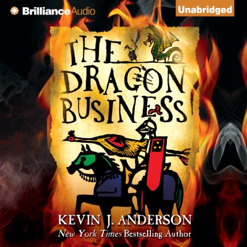 The Dragon Business audiobook cover art