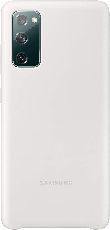 Samsung Galaxy S20 FE 5G Silicone Case, White (US Version)