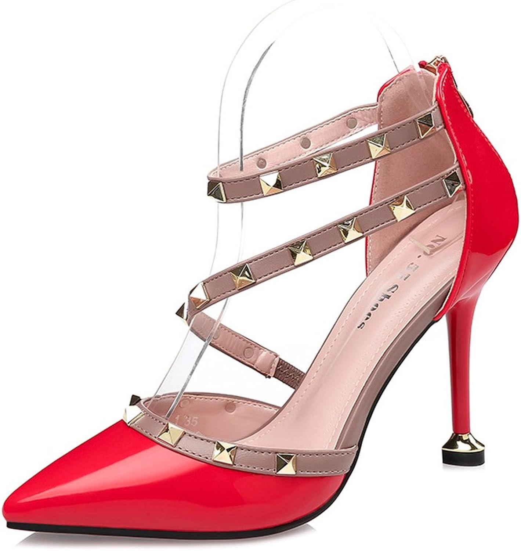 Smart.A High Heels Sandals shoes Summer Wedding Party shoes Women Gladiator Platform Sandals