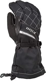 Klim Allure Women's Ski Snowmobile Gloves - Matte Black/Large